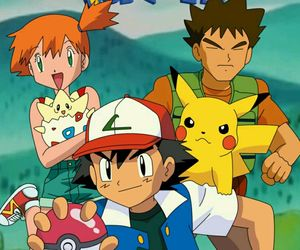 anime, Brock, and manga image