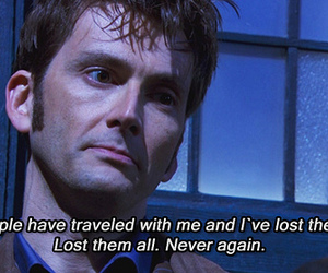 david tennant, doctor who, and sad image