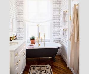 bathroom, home decor, and vintage image