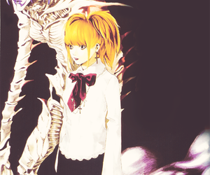 death note, rem, and misa amane image