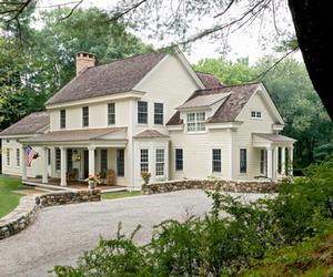 home, house, and farmhouse image