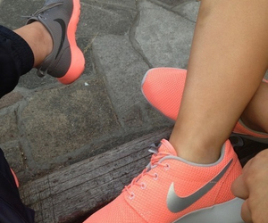 coral, grey, and nice image
