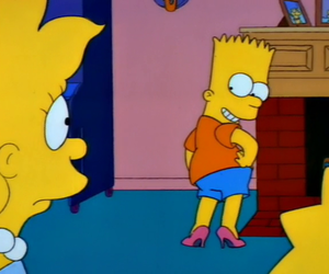 sexy, bart, and simpsons image
