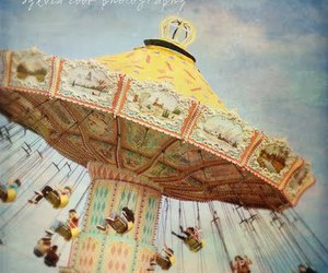 fairground, photography, and vintage image