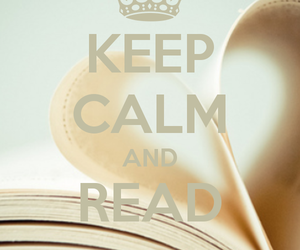 book, read, and keep calm image