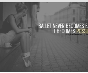 ballet, possible, and pointe shoes image