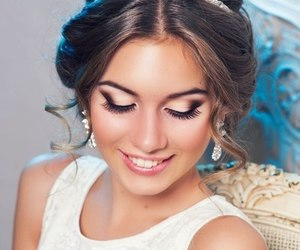 hair, make up, and makeup image