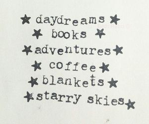 book, coffee, and adventure image
