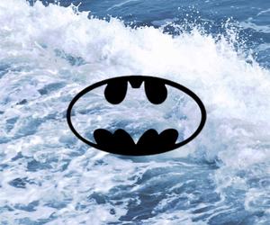 batman, Logo, and water image
