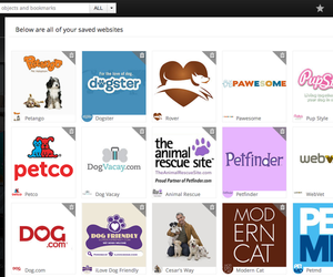 bookmark, organize, and pets image