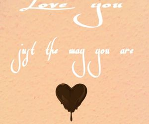 chocolate, heart, and quotes image