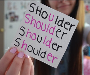 her, hold, and shoulder image