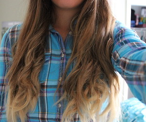 hair, ombre, and quality image