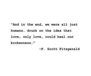 quotes, love, and broken image