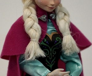 anna, disney, and doll image