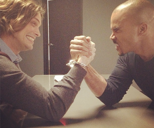 criminal minds, matthew gray gubler, and derek morgan image