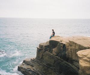 sea, boy, and photography image