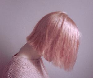 color hair, indie, and girl image