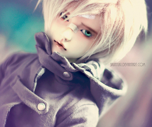 ball jointed doll, bjd, and blue eyes image