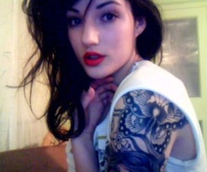 tattoo, girl, and pretty image