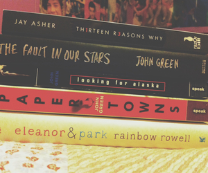 john green, paper towns, and jay asher image