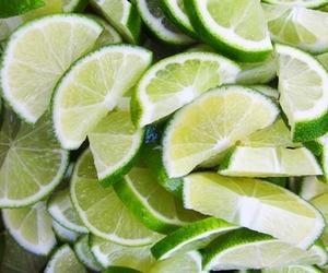 fruit, green, and lemon image