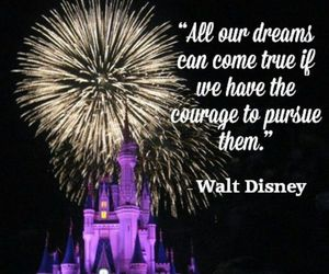 quote and walt disney image