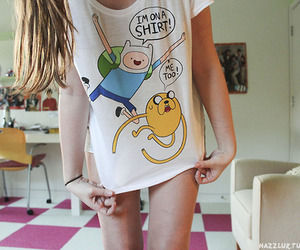 adventure time, shirt, and tumblr image