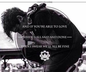Lyrics, crown the empire, and bands image