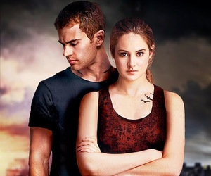 divergent, four, and love image