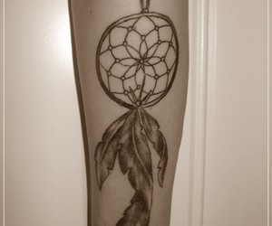 arms, dreamcatcher, and sepia image