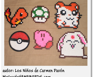 beads, charmander, and hama image