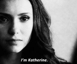 katherine pierce, tvd, and the vampire diaries image