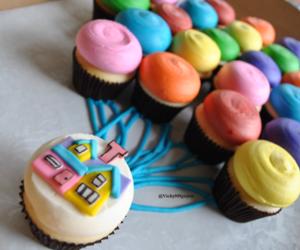 cupcake, up, and food image