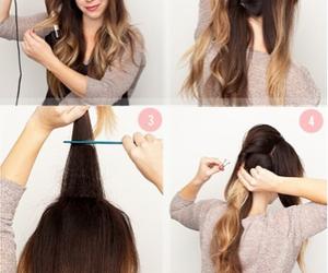 diy, hack, and ponytail image