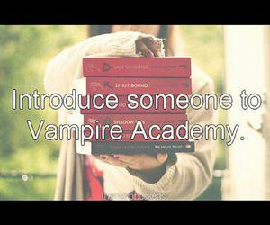 books, happy, and vampire academy image