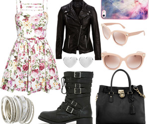 dress, girly, and hipster image