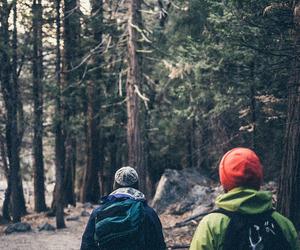 camping, hiking, and nature image