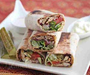 food and shawarma image