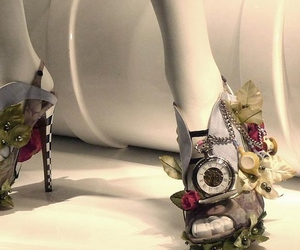 shoes, alice in wonderland, and fashion image