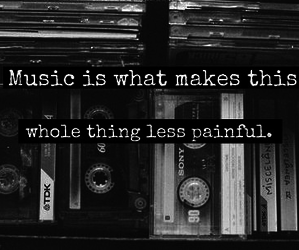 music, quotes, and pain image