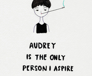 audrey hepburn, audrey, and quote image