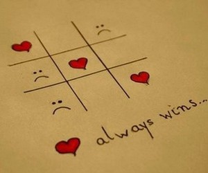 love, heart, and win image