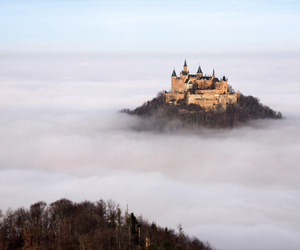 castle, germany, and clouds image