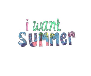summer, transparent, and overlay image