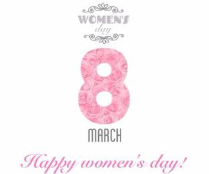 march, women's day, and women image
