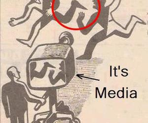 media, tv, and true image