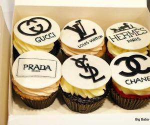 Prada, chanel, and cupcakes image