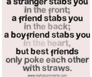 friends, best friends, and strangers image