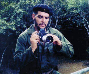 camera, man, and revolution image